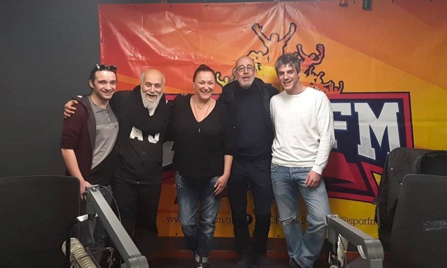 Η Ρένια Λουιζίδου και ο Χάρης Τζωρτζάκης  μίλησαν για μπάλα και άλλα στον ΣΠΟΡ FM 94,6! (pics/video)