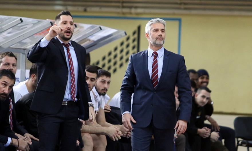 Μητρόπουλος: «Μεγάλη θέληση στην άμυνα από τους παίκτες μας»