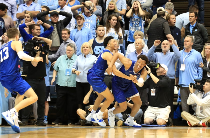 Μυθική ανατροπή από το Duke στο NCAA (video)