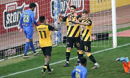 Το 3-0 της ΑΕΚ με τον Αλμπάνη (video)