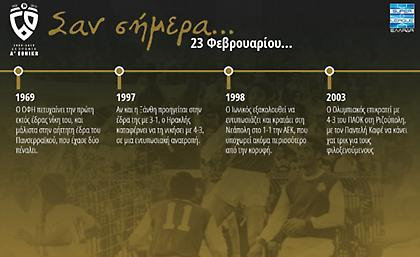 60 χρόνια Α' Εθνική: Σαν σήμερα, 23 Φεβρουαρίου