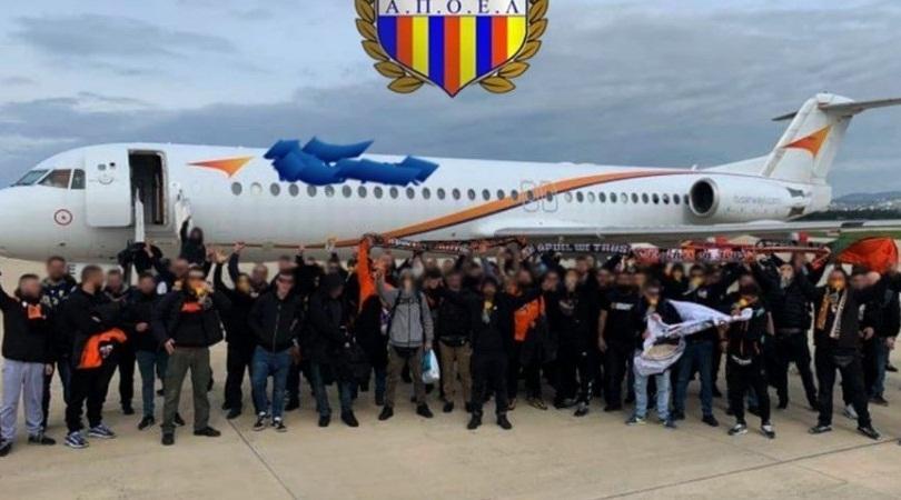 Αναγκαστική προσγείωση για αεροσκάφος που μετέφερε οπαδούς του ΑΠΟΕΛ στη Βασιλεία