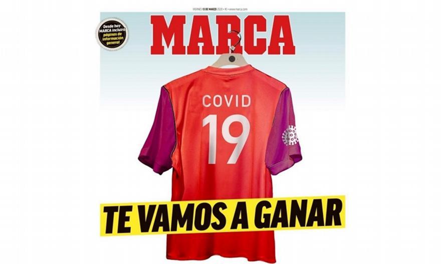 MARCA: «Covid-19, θα σε νικήσουμε» (pic)