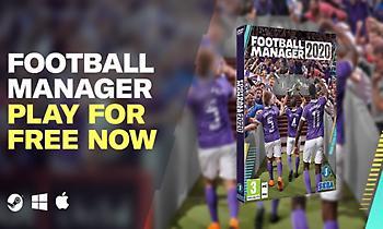 Δωρεάν Football Manager για μια εβδομάδα!
