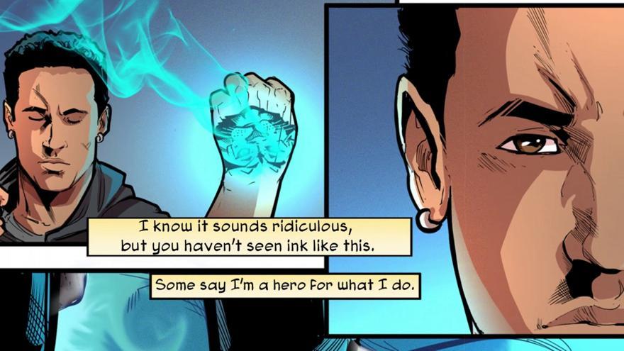 Ο Νεϊμάρ διαθέτει δωρεάν τα κόμικ που φτιάχνει εταιρεία του