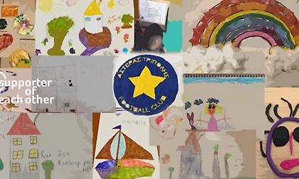 Τα παιδιά του Αστέρα Τρίπολης ζωγραφίζουν!
