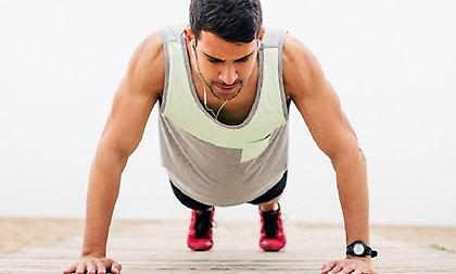 Τι θα συμβεί στο σώμα σου αν κάνεις 100 push ups την ημέρα;