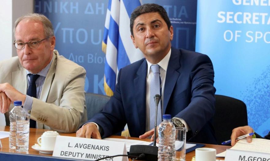 Αυγενάκης: «Τέλη Μαΐου με αρχές Ιουνίου θα ξεκινήσουν τα πρωταθλήματα»