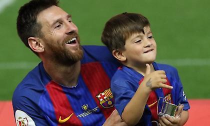 Μέσι: Ο 7χρονος γιος του είναι οπαδός του Ρονάλντο!