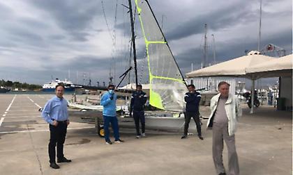 Το «Athens International Sailing Center» επιθεώρησε ο Γιώργος Μαυρωτάς