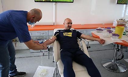 Εθελοντική αιμοδοσία από τον Αστέρα Τρίπολης