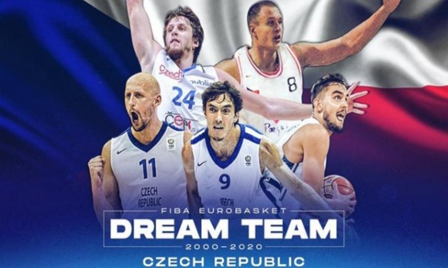 Ανακοίνωσε την κορυφαία τσέχικη πεντάδα η FIBA