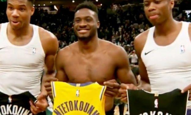 NBA: Με Antetokounbros το βίντεο για την ημέρα του αδελφού (video)