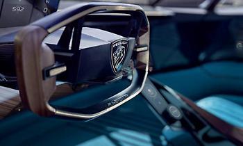 H εξέλιξη του τιμονιού της Peugeot σε ένα έξυπνο σύστημα διεύθυνσης πολλαπλών λειτουργειών