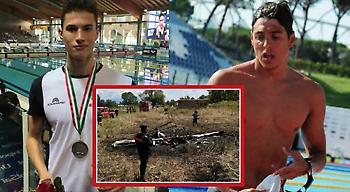 Νεκροί σε αεροπορικό δυστύχημα δύο Ιταλοί κολυμβητές