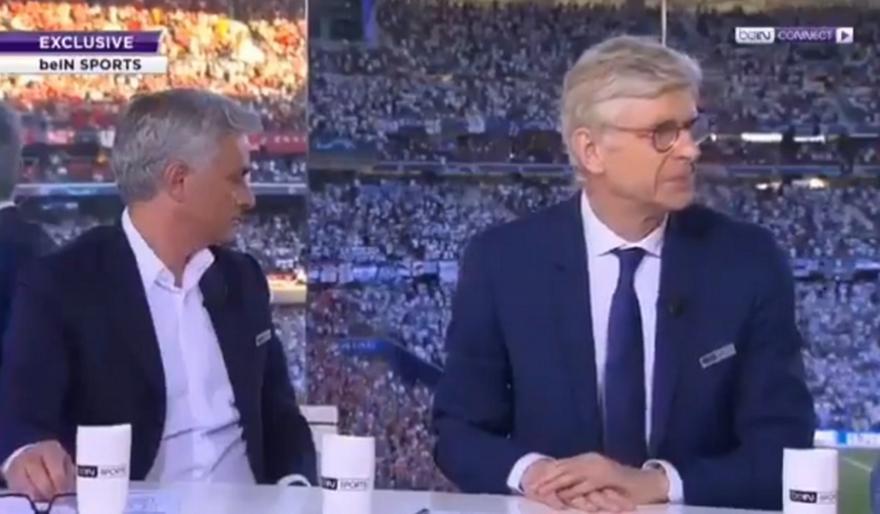 Όταν Μουρίνιο και Βενγκέρ... χάζευαν από τον κόσμο της Λίβερπουλ στη Μαδρίτη (video)