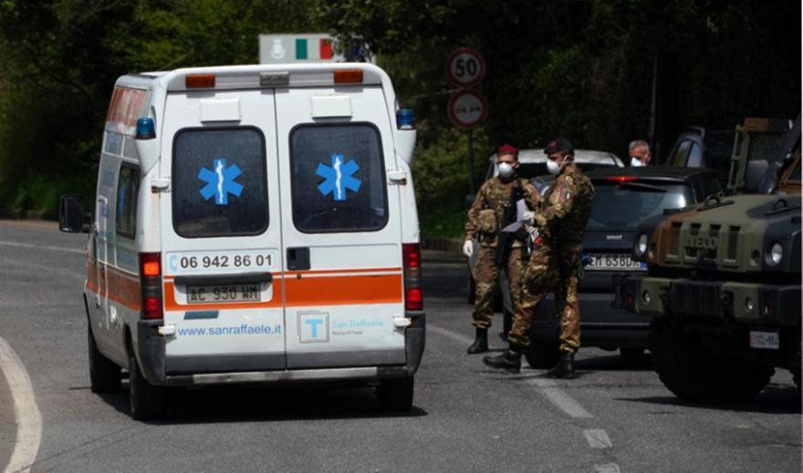 Κορωνοϊός - Ιταλία: Μείωση των κρουσμάτων και των νεκρών