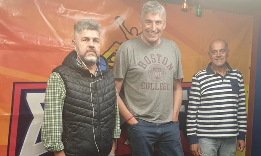 LIVE: Ο Παναγιώτης Φασούλας στον ΣΠΟΡ FM 94,6