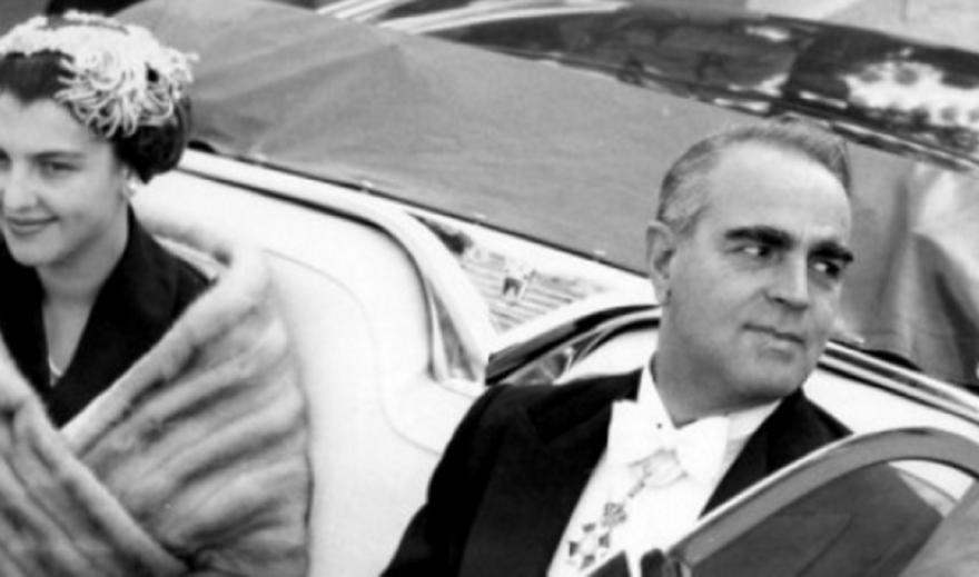 Πέθανε η πρώην σύζυγος του Κωνσταντίνου Καραμανλή Αμαλία Μεγαπάνου