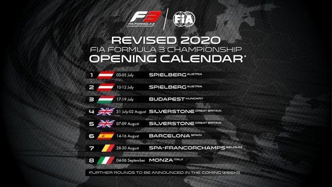 Οριστικό: Αρχίζει τον Ιούλιο η Formula 1