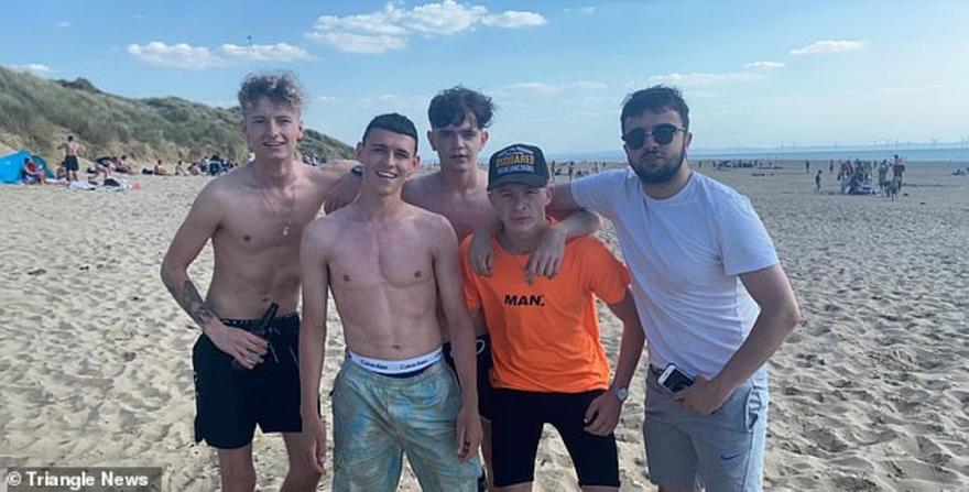 Στην παραλία ο Φόντεν, παραβίασε κανονισμό των ομάδων! (vid)