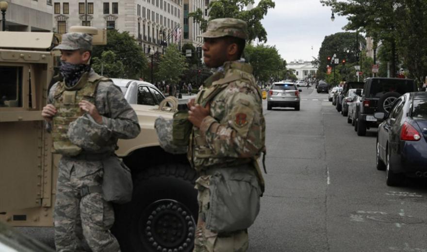 Πεντάγωνο: 1.600 στρατιώτες μεταφέρθηκαν στην περιφέρεια της Ουάσινγκτον