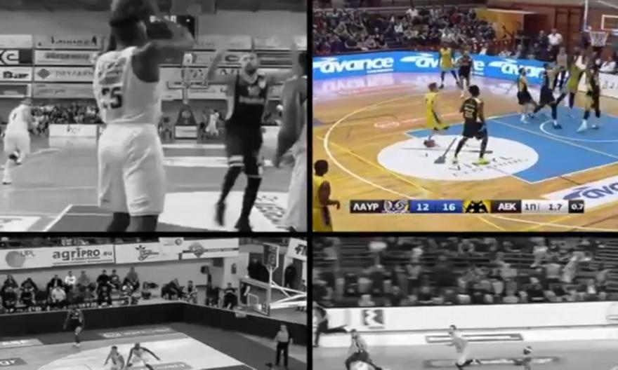 Οι 4 καλύτερες τάπες της φετινής Basket League! (video)