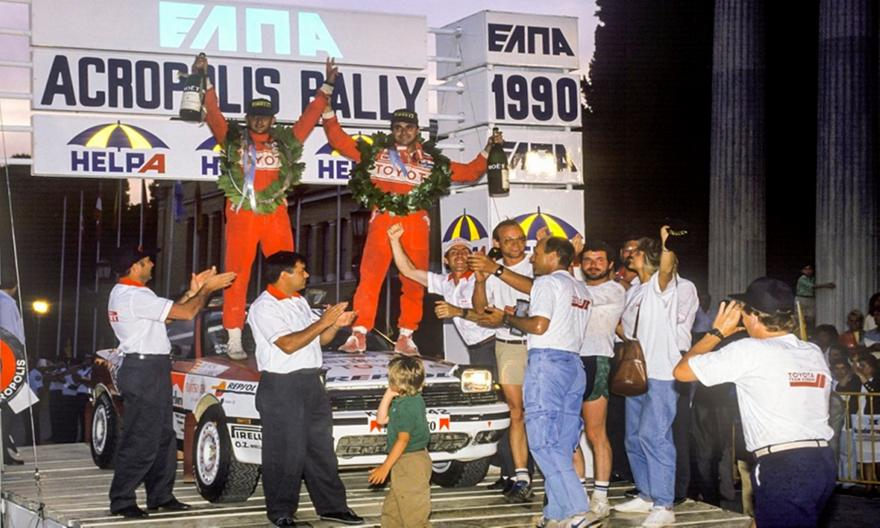 Σαν σήμερα: Ο Κάρλος Σάινθ πήρε στο Ράλι Ακρόπολις την πρώτη του νίκη στο WRC