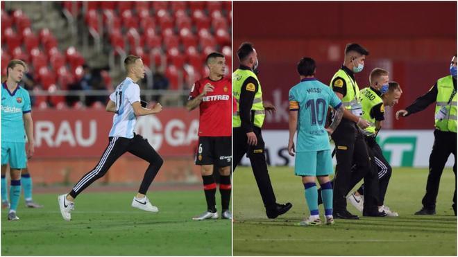 Ζητεί παραδειγματική τιμωρία του εισβολέα στο Μαγιόρκα-Μπαρτσελόνα η La Liga