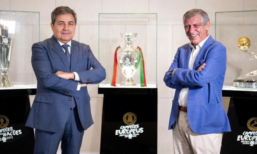 Στον πάγκο της εθνικής Πορτογαλίας μέχρι το 2024 ο Σάντος!