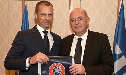 Γραμμένος: «Ανυπομονούμε να φιλοξενήσουμε την ελίτ του ευρωπαϊκού ποδοσφαίρου»