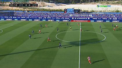 Τα highlights από τη νίκη της Ατλέτικο Μαδρίτης