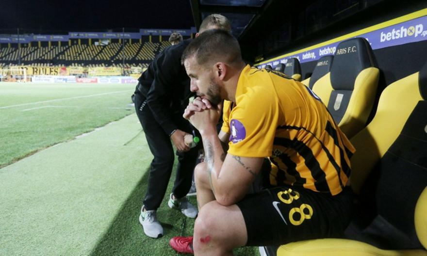 Σάσα: «Τα δώσαμε όλα, δεν μπορέσαμε να συνέλθουμε μετά από το πρώτο γκολ της ΑΕΚ»