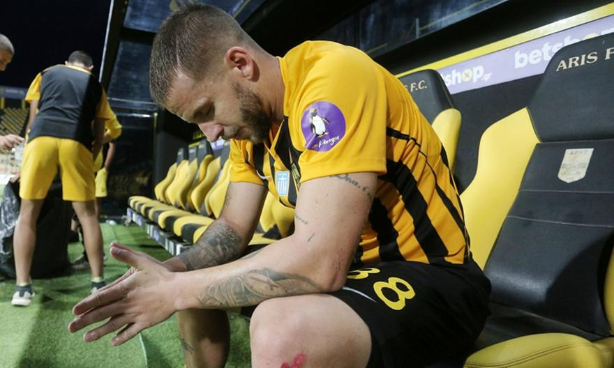 Λούκας Σάσα: «Παλέψαμε μέχρι τέλους, ζητώ συγγνώμη»