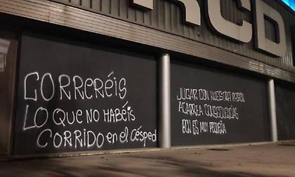 Χαμός στην Εσπανιόλ – Απειλές κατά των παικτών από τους φιλάθλους (pics)