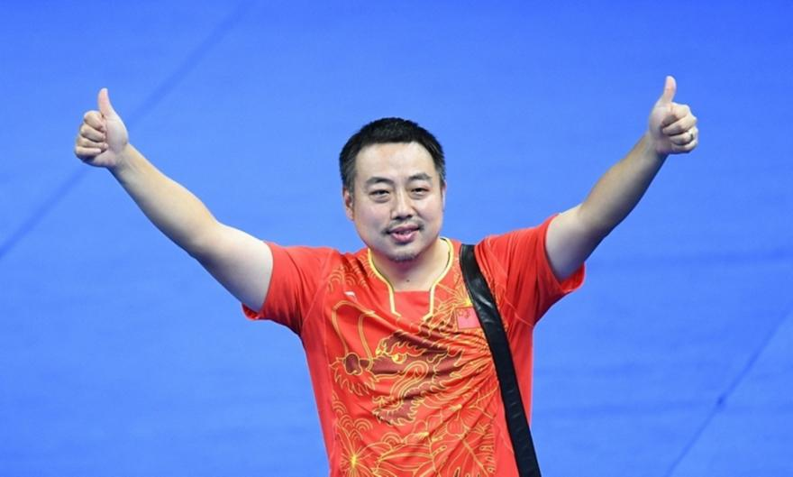 O θρυλικός Λιου Γκουολιάνγκ πρόεδρος του World Table Tennis