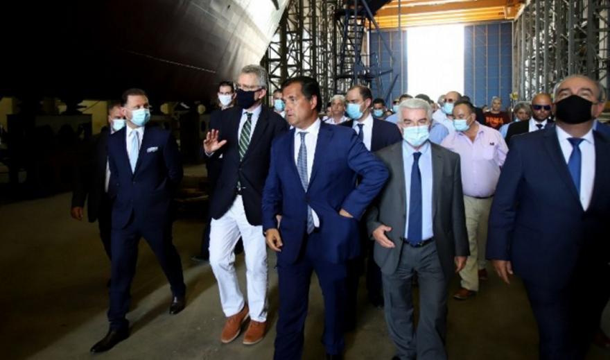 Ξεκίνησε η διαδικασία για την εξυγίανση των Ναυπηγείων Ελευσίνας