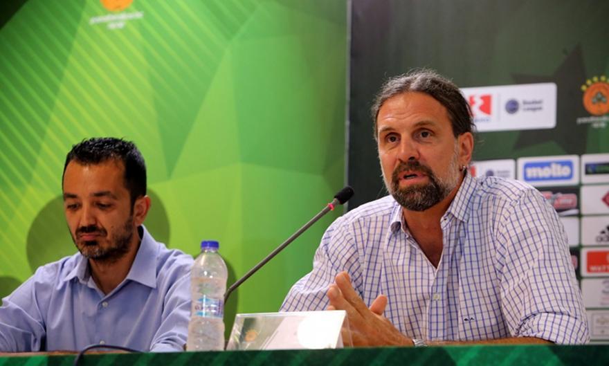 Αλβέρτης: «Είμαστε εδώ ως Παναθηναϊκοί να στηρίξουμε τα παιδιά που θα ιδρώνουν στο γήπεδο»