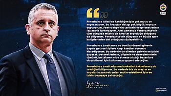 Κοκόσκοφ: «Από τους μεγαλύτερους συλλόγους παγκοσμίως η Φενέρμπαχτσε»