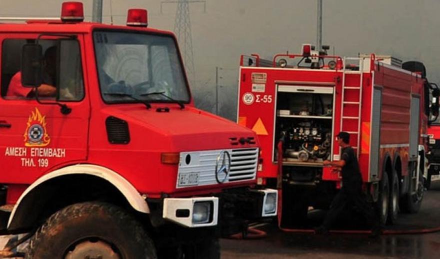 Υπό μερικό έλεγχο τέθηκε η φωτιά στην Ζάκυνθο