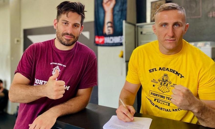 Το πρώτο ελληνικό team που συμμετέχει στο UFC
