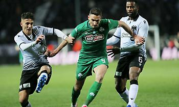 Live: ΠΑΟΚ-Παναθηναϊκός 0-0