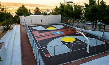 Ψηλά το κεφάλι, σουτάραμε και πάλι στο νέο ανοιχτό γήπεδο μπάσκετ της Αγίας Βαρβάρας (pics - vids)