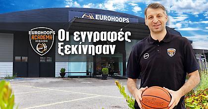 Εurohoops Academy: Ξεκίνησαν οι εγγραφές για τη σεζόν 2020-21!