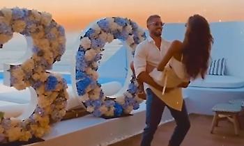 Γιόρτασε τα 30α γενέθλιά του στη Μύκονο με την Ιζαμπέλ ο Τραπ (video)