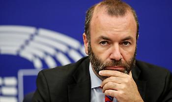 Ευρωκοινοβούλιο-Βέμπερ: «Δε μπορούμε να αφήσουμε την Ελλάδα και την Κύπρο μόνες τους»