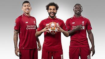 Τα 250 γκολ έφτασαν οι τρεις «μάγοι» της Λίβερπουλ