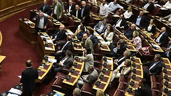 Από 187 βουλευτες υπερψηφίστηκε το νομοσχέδιο για διαδηλώσεις-Απείχαν Παπανδρέου, Καστανίδης