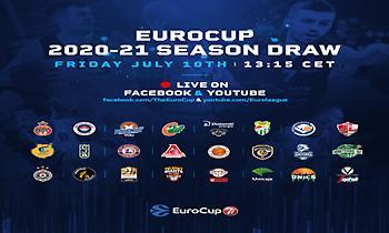 Σήμερα το μεσημέρι η κλήρωση του EuroCup