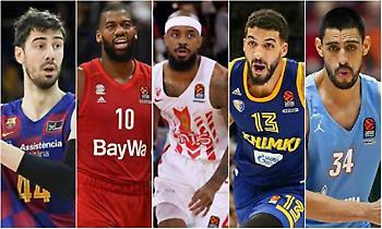 Ευρωλίγκα: Το Top-10 των free agents!
